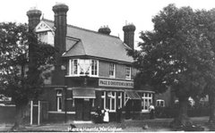 Hare & Hounds, Warlingham Corner, 12th August 1911