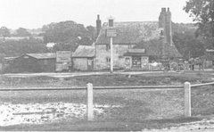 The Ship Inn, Tatsfield Common, c 1886