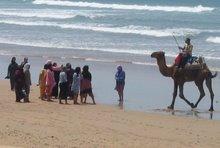 La plage Sidi Kaouki