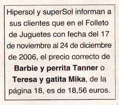 El País, 21/11/06