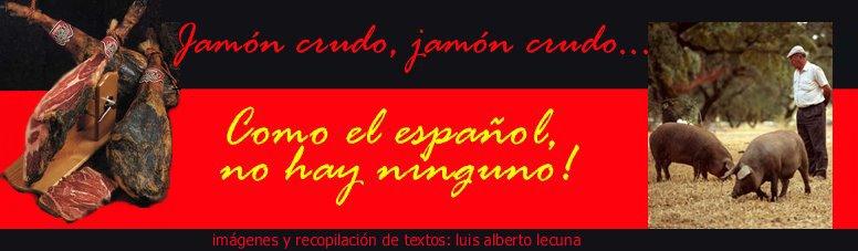 El Jamón Crudo Español