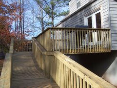 New Deck and Ramp