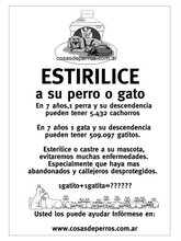 NO a la Reproducción - poster argentino