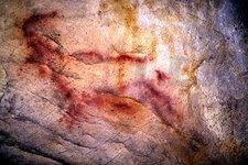 Arte rupestre en Cueva del Morron