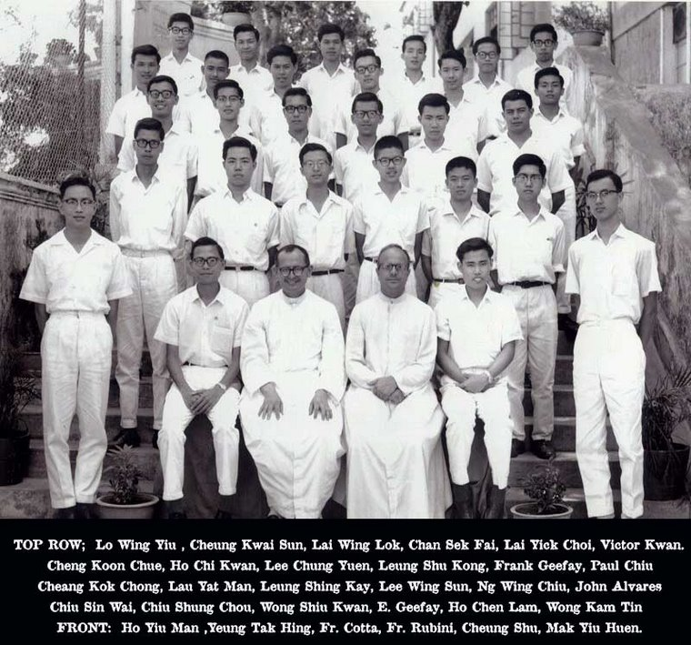 Yuet Wah English Section Class of 1963.  Great Bear II