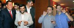 Los Castigadores son invitados a una gala con el presidente de Iran