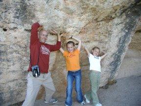 at Montezuma's Well in AZ