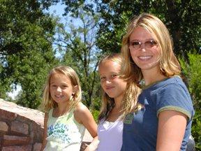 Ed and girls at Storybook Island