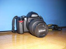 Camara Nikon D-40X