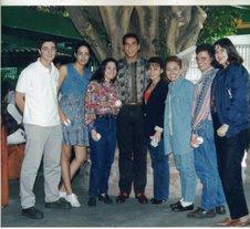 """Un gran recuerdo""""Staff de """"A Puerta Cerrada"""" 1991 algo asi..."""