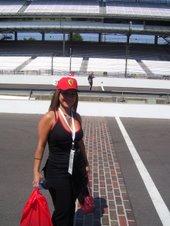 Parada en la propia pista de Indianapolis