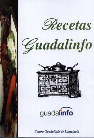 Portada del libro creado por l@s usuari@s del Centro  Guadalinfo de Lantejuela