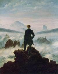 """""""Viandante sul mare di nebbia"""""""