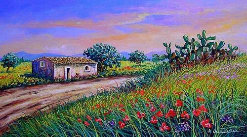 Alcuni suoi dipinti