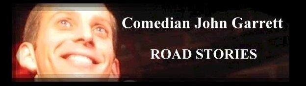 Comedian John Garrett