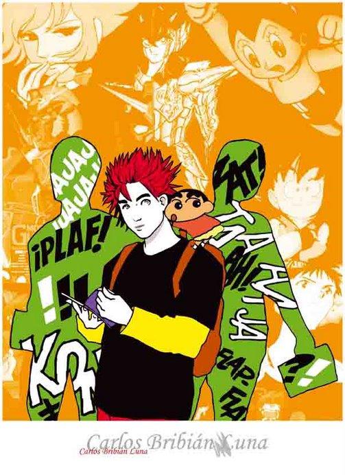 ¿Cartel del Salón de Cómic Manga?