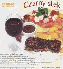 Sphinx-Blackened steak/Czarny Stek po Kreolsku