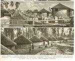 Huts for Aboriginal Ethiopians zoned by Italians