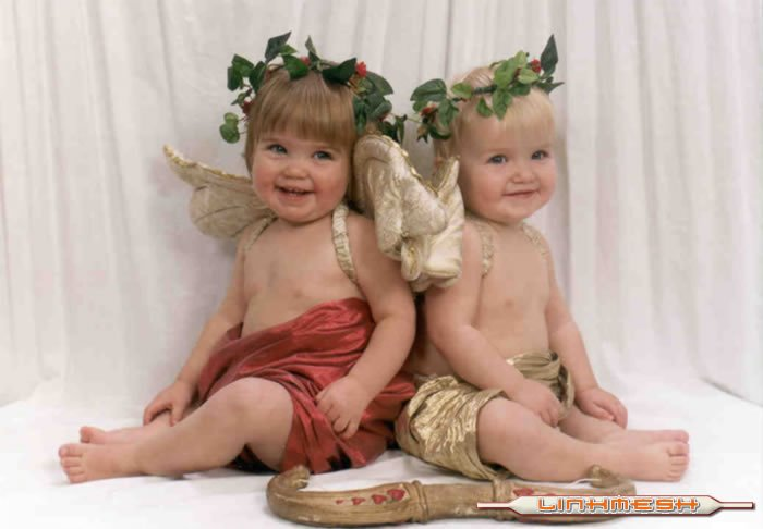 Que bonitos angeles...!