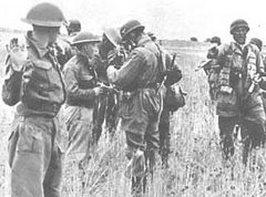 Britanicos se rendem aos para-quedistas alemães