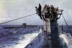 U-Boots no atlantico