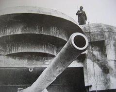 Bateria costeira alemã na Normandia