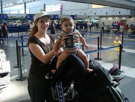 Alex and Mom jet set the World!