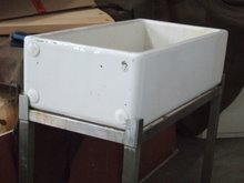 90cm long butler sink and stand- £10