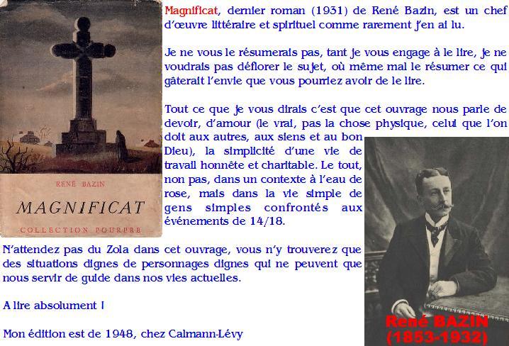 René Bazin : Magnificat