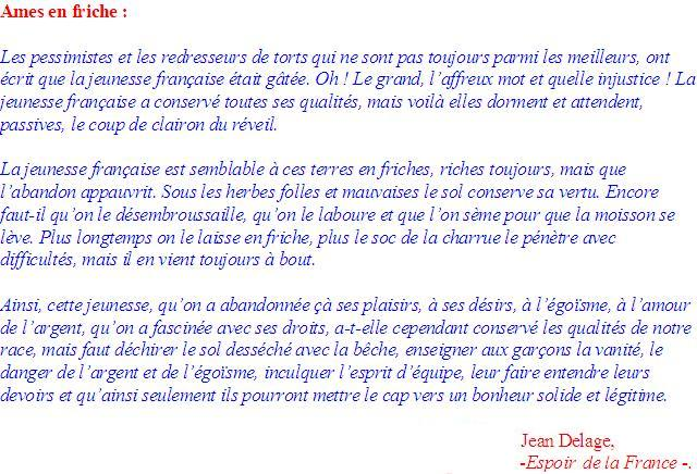 Jean Delage : Âmes en Friche