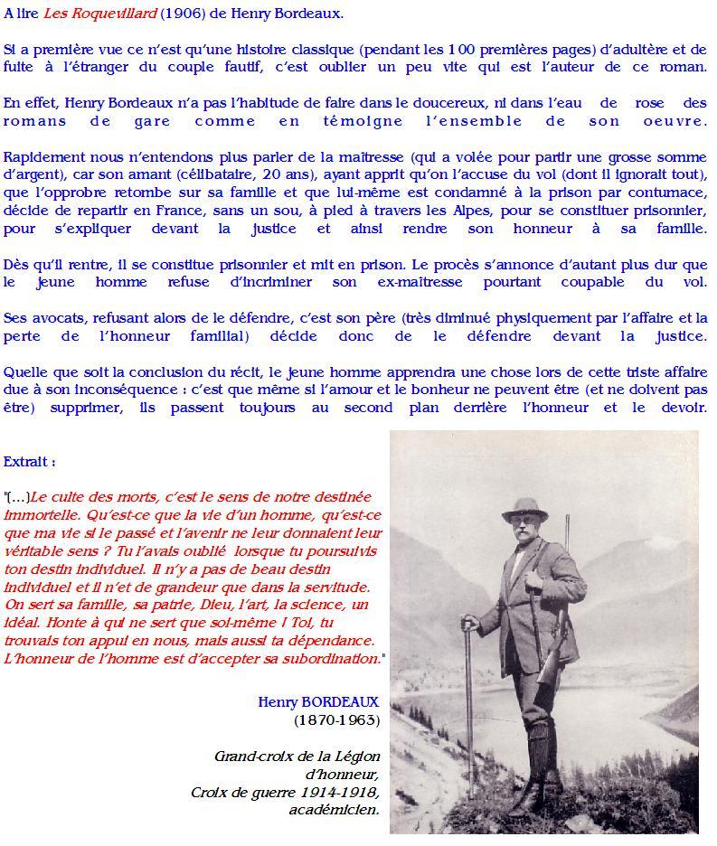 Henry Bordeaux : Les Roquevillard