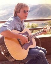 John Denver at his home in Starwood Aspen