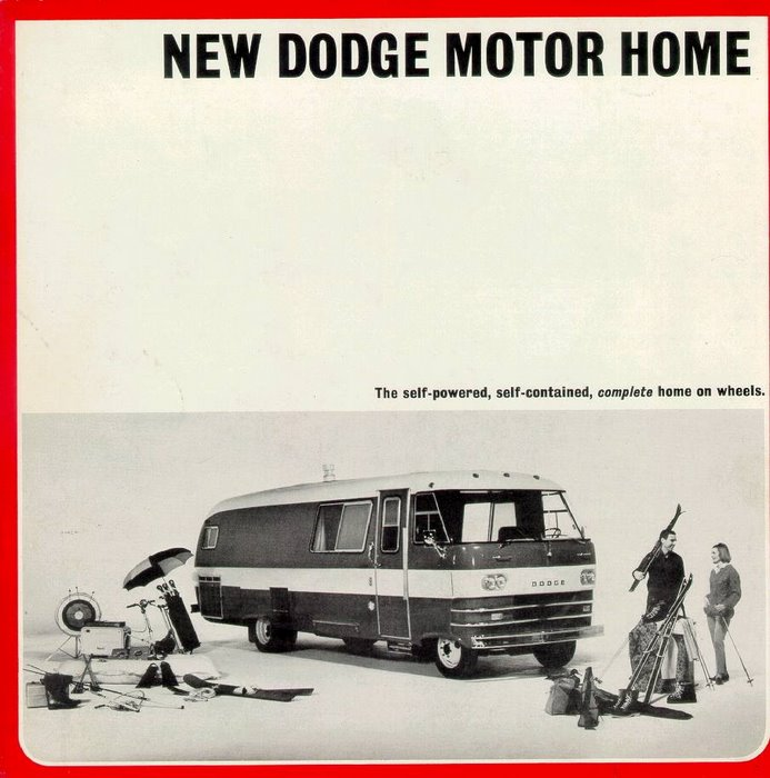 Vintage Dodge Travco Ad