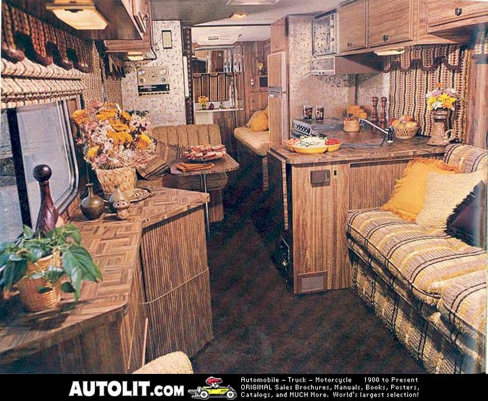 Sportscoach Motorhome interior