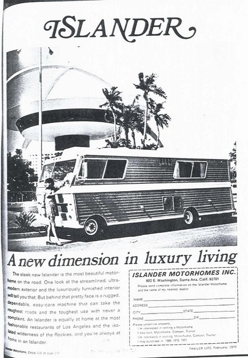 An Ad for my Grandfathers Coach 1970