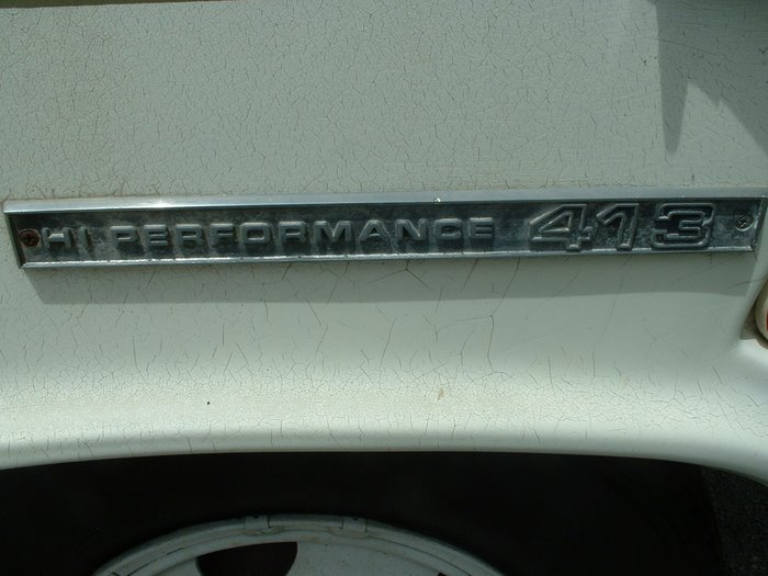 The Engine Name Plate