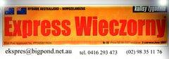 Sponsor radia: Express Wieczorny