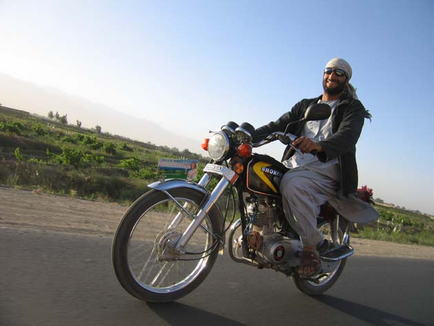 Afghan easy rider