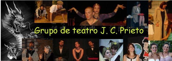 Página de teatro J. C. Prieto