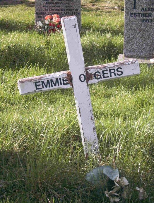 Emma Jane Odgers Grave