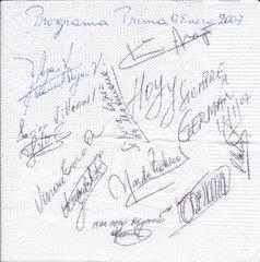Creación del PRIMA Buen@s Profesor@s: Firma de compromiso,