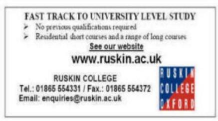 Ruskin College