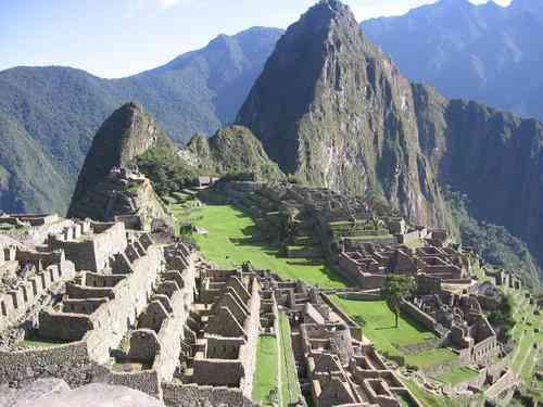Machupicchu: Tesoro del Peru y           del Mundo !