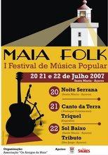 O Festival MAIAFOLK decorerá no fim de Semana de 21 e 22 de Julho de 2007
