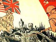 Cartel de propaganda de la URSS, durante la Segunda Gran Guerra