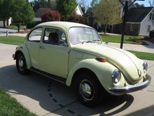 My 1972 Super Beetle