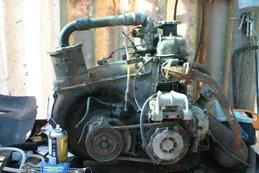 Un prezioso motore D in restauro
