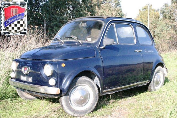 Fiat 500 Giannini Tv ASI