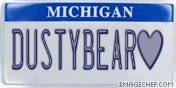"STATE OF MICHIGAN HONORS IT""S FAVE BEAR"