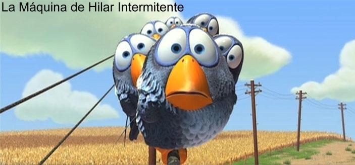La Máquina de Hilar Intermitente